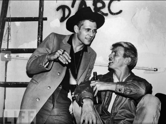 Paul Simonon & David Bowie