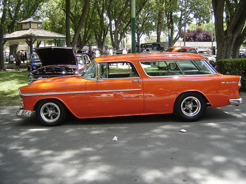 WAGON WEDNESDAY Chevy Nomad