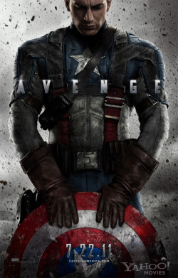 fuckyeahmovieposters:  Captain America: The First Avenger