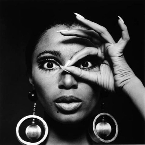Donyale Luna with Earrings, 1966. Photo by Charlotte March.