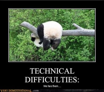 Panda has difficulties…