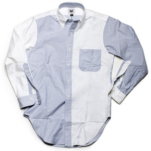Run Of The Mill Shop — Oxford Fun Shirt On Sale for $70.  Only S and XS left.  I might bite.  Summer, summer, summertime…summertime.