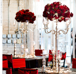 weddingcentral:  Candelabras