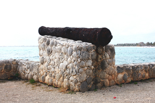 A cannon in Mexico.