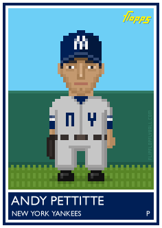 flipflopflyball:  Flopps #30: Andy Pettitte.  This is delightful.