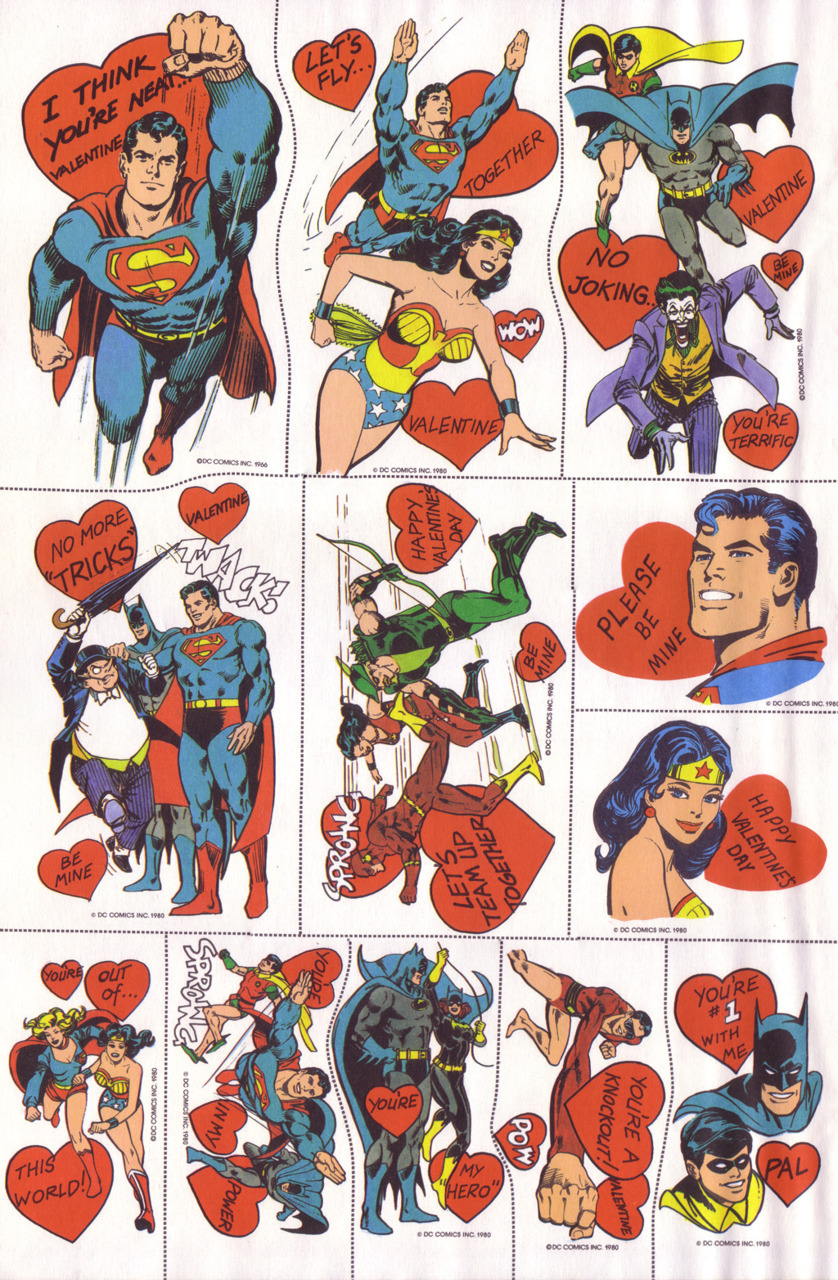 Another awesome day of printable Valentines. Dropping the big one today so people have ample time to print and send them. Via Andertoons