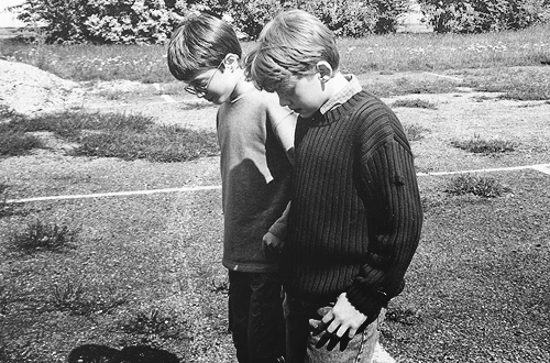 Daniel Radcliffe and Rupert Grint on the day they met