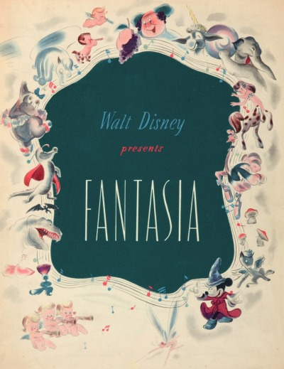 My best eBay buy of last term was this amazing piece of Disney memorabilia- A limited edition programme from Disney's Fantasia, which accompanied the first run of the film in cinemas in 1940. Limited to 2000 copies, the 30-page programme takes you through each movement of the film, with colour artwork and written commentary of the music and animation. Equally cool is that the film's original length is a whopping 2hours40mins, Which did badly to the point an 80 minute version was released in cinemas quickly after the premier. This programme is for the whole feature. Michael Sporn Animation has scans of a copy, and you can have a flick through here.