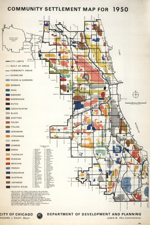 garik:  Chicago Demographics, 1950 City of Chicago Department of Planning and Development