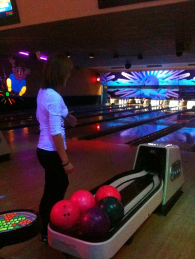 More bowling pictures from last night :)