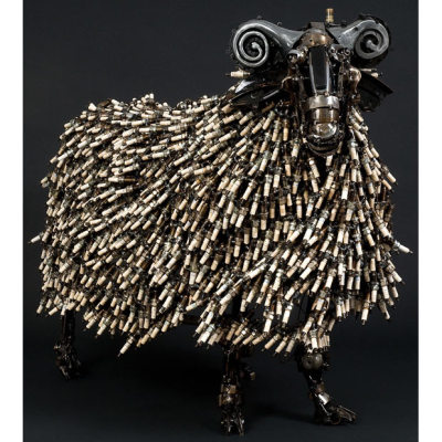 Scrap Metal Sheep by James Corbett