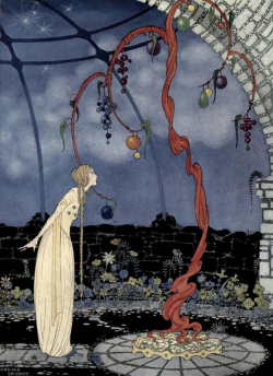 Virginia Sterrett, illustration from Old French Fairy Tales (1920)