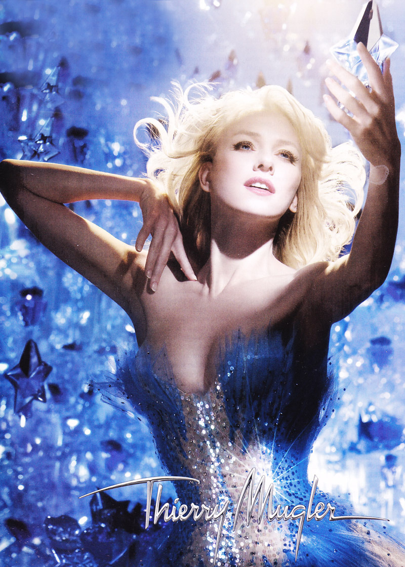 Naomi Watts for Thierry Mugler Angel….