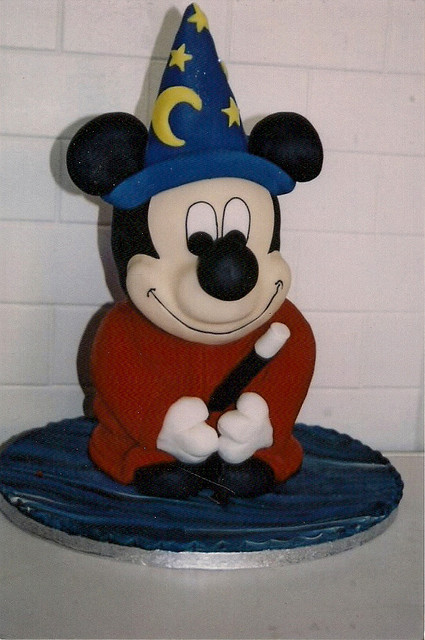 Mickey Mouse (by Kelly Anne Smith)