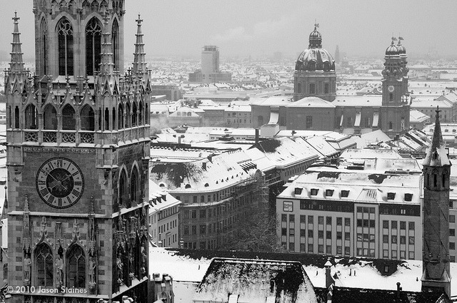 Munich Skyline (by Jason Staines)