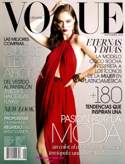 Vogue Latinoamerica 2010 09 scanned by me sdg - Moda Scans member Ph: Tesh Model: Coco Rocha