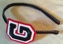thegamedaygirls:  Go Dawgs! Our Georgia Headband, part of the Spring headband Line 2011, Mid February release!
