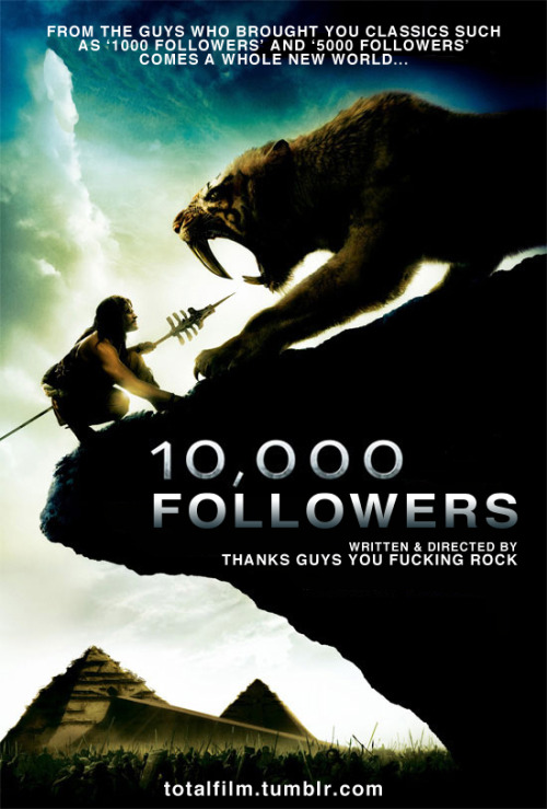 10,000 followers! Thanks guys! We can not even! :)