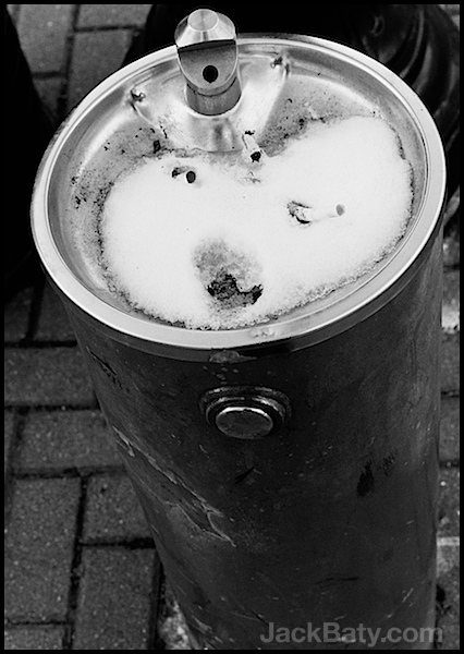 Drink Me  Leica M6 50mm Summicron Portra 400. B&W Conversion in Silver Efex Pro