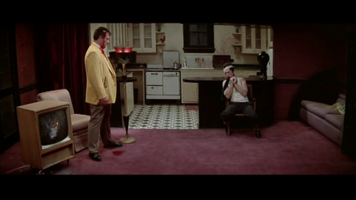 The Yellow Man and the Tied-Up Man. Blue Velvet (1986) Written and directed by David Lynch, starring Kyle Maclachlan, Isabella Rossellini, Dennis Hopper, and Laura Dern.