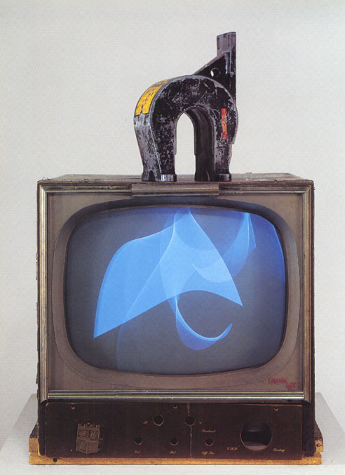 intweetion:  Nam June Paik