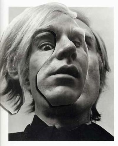 Arnold Newman - Andy Warhol, New York (1993)via