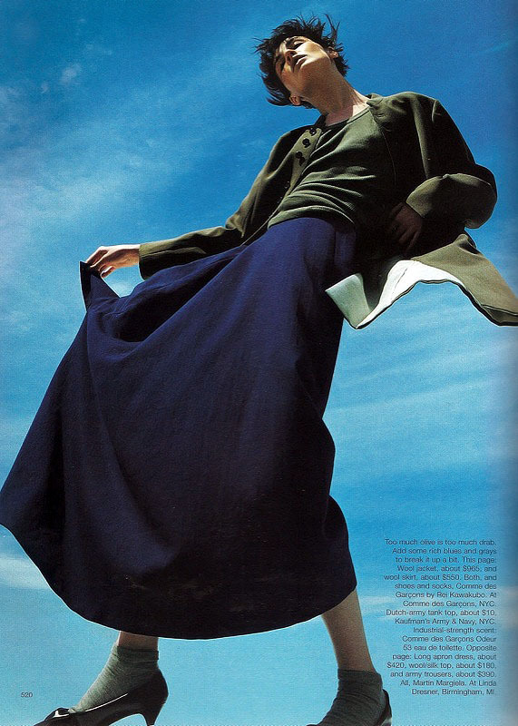 totally wacphotography patrick demarchelier styling melanie wardharper's bazaar september 1998