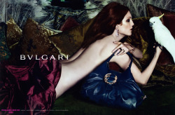 Bvlgari 2010 Scanned by sdg - Moda scans member Ph: Mert Alas & Marcus Piggott Model: Julianne Moore