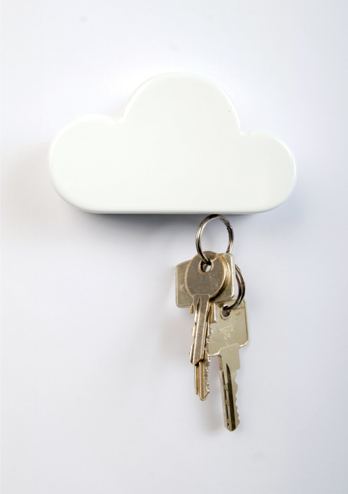 Cloud keyholder detail by Duncan Shotton via Colossal