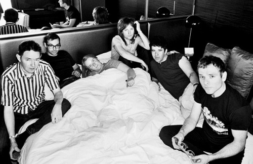 sleeptheclockaround:  Belle and Sebastian in bed…