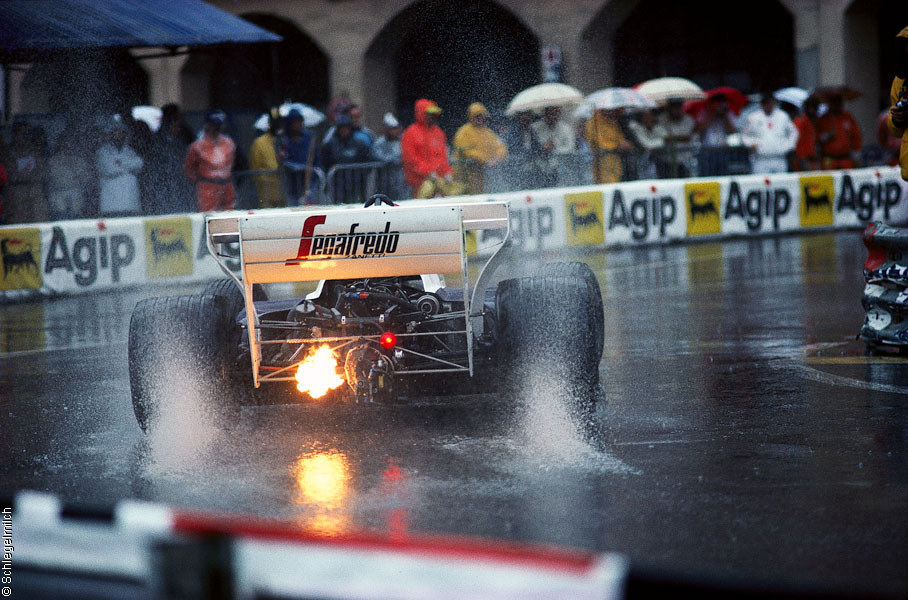 automotivated:  Master in the wet. Ayrton's first season with Toleman.