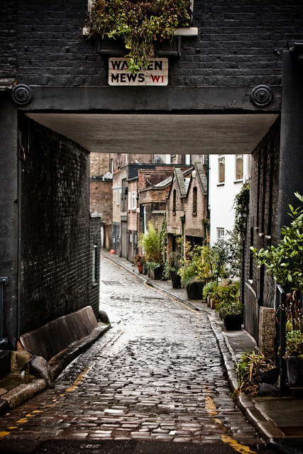 agoodthinghappened:   Warren Mews A typical London mews. by garryknight/flickr.com