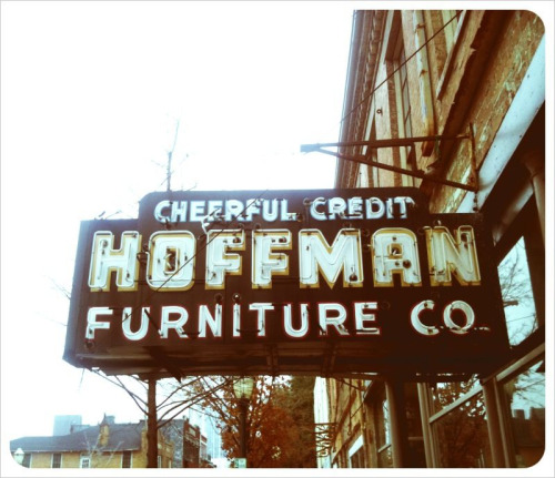 Hoffman Furniture.