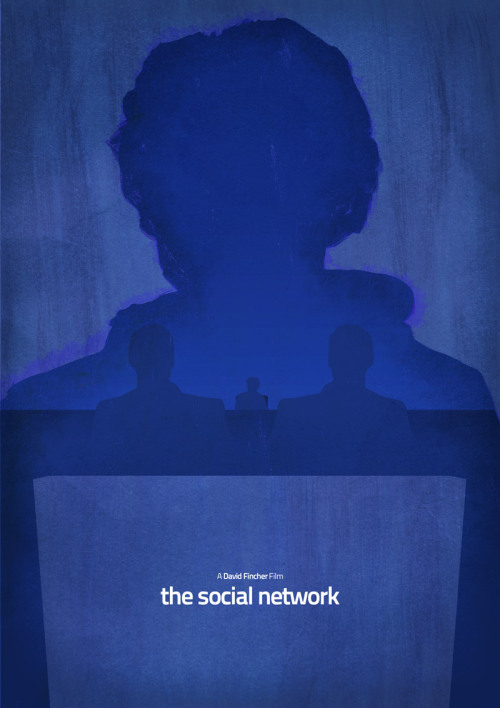 The Social Network by Dean Walton Limited edition of just 100, exclusive to Mr Shabba and part of the Oscar Nominated '11 series.  Each print is individually numbered and signed.
