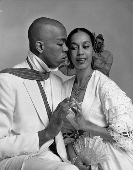 Carmen de Lavallade and Geoffrey Holder.
