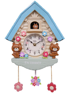 Bear Clock House by Swimmer