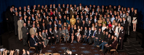 2011 Oscar Nominee Luncheon Photo: Try And Spot All The Pixar Folk! Click to view full-size image.