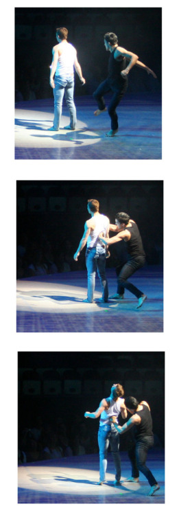 sytycd tour. columbus, ohio. robert stabs kent. (wtf.)