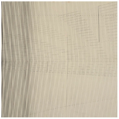 "Nasreen Mohamedi (Indian, 1937–1990). Untitled. c. 1970Graphite and ink on paper18 11/16 x 18 11/16"" (47.5 x 47.5 cm).Private collection. Courtesy Talwar Gallery, New York/New Delhi.© 2010 Estate of Nasreen Mohamedi More…"