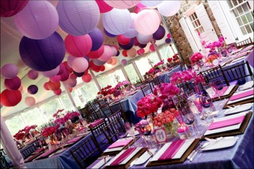 weddingcentral:  Tangled Themed Reception  this party is fabulous!!