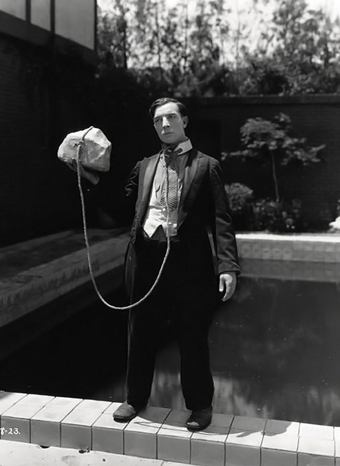 tackorama:  Buster Keaton. I kind of love Buster Keaton.  Agreed.
