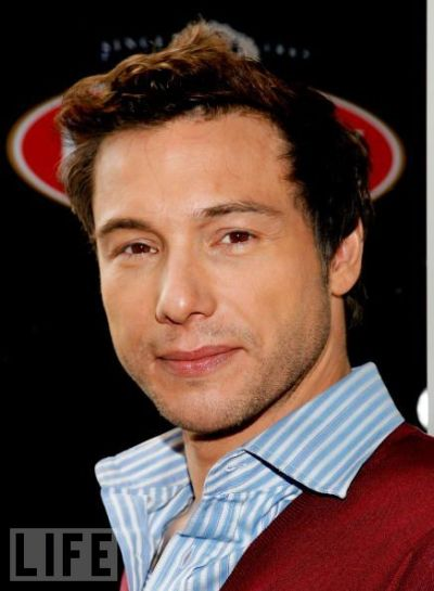 Rocco DiSpirito. not usually into clean cut, but this chef knows how to bake my cookies.