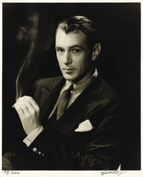 scotomisation:  Gary Cooper par George Hurrell