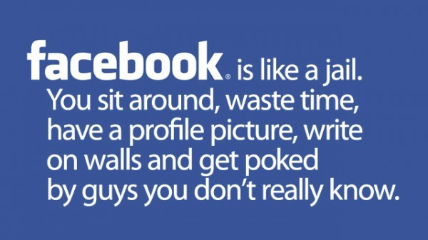 Gizmodo posted this perfect, anonymous, definition of Facebook.  via paxmachina