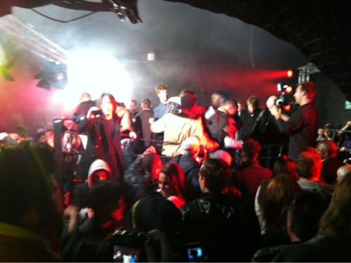 Classic… Mosh pit at Nike Destroyer party…
