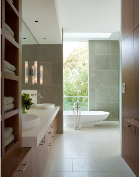 homedesigning:  Get Inspired : 10 Amazing Modern Bathroom Designs