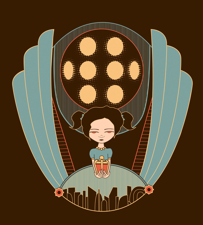 Bioshock - by Meghan Stratman Website || DeviantART (via svalts)