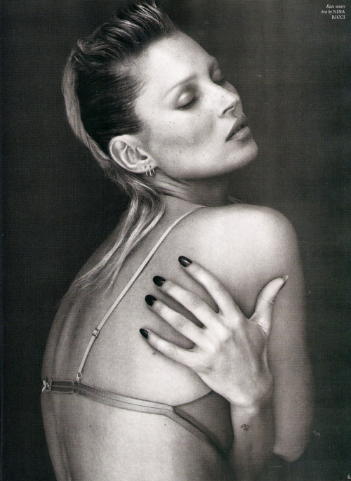 Kate Moss by Mert Alas and Marcus Piggott LOVE #5 S/S 2011