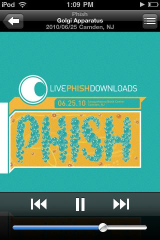 @ Barnes & Noble -Why cant i stop listening to this phish show i was at?!? - summer 2010