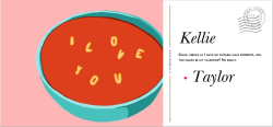 awwww, kate spade e-card valentines are just flying around! give one to your sweetheart :):) ps) IT'S BEEN WAY TOO LONG SINCE I'VE HAD ALPHABET SOUP